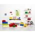 Ladrillo de almacenamiento rojo de 8 espigas LEGO®: Image 3