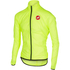 Castelli Squadra Due Cycling Jacket - Yellow: Image 1