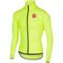 Castelli Squadra Due Cycling Jacket - Yellow: Image 1