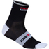 Castelli Rosso Corsa 9 Cycling Socks - Black: Image 1