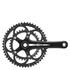 Campagnolo Veloce 10 Speed Power Torque Compact Chainset - 50-34T 172.5mm - Black