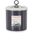 Morphy Richards Accents Large Storage Canister - Black: Image 1