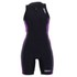 Zone3 Women's Aquaflo Triathlon Suit - Black/Purple: Image 1