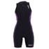 Zone3 Women's Aquaflo Triathlon Suit - Black/Purple: Image 1