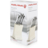 Morphy Richards 46292 5 Piece Knife Block - Cream: Image 5