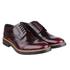 Base London Men's Woburn Brogue Shoes - Red: Image 1