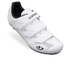 Giro Treble II Road Cycling Shoes - White: Image 1