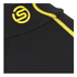 Skins Men's A200 Thermal Long Sleeve Compression Mock Neck Top - Black/Yellow: Image 5