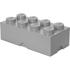 LEGO Storage Brick 8 - Medium Stone Grey: Image 1