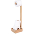 Wireworks Mezza Natural Oak Freestanding Roll Holder: Image 2