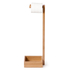 Wireworks Arena Bamboo Freestanding Roll Holder: Image 5