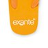 PE Beach Flip Flops with PVC Strap - Orange - Large: Image 4