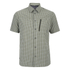 Berghaus Men's Lawrence Short Sleeve Shirt - Green/White Check: Image 1