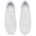 A.P.C. Men's Jaden Leather Tennis Shoes - White: Image 2