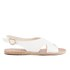 Ancient Greek Sandals Women's Maria Leather Sandals - White: Image 1