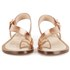 Ted Baker Women's Prendie Toe Post Leather Sandals - Orange/Light Pink: Image 4