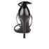 BOSS Hugo Boss Women's Tahara-A Grosgrain Barely There Heeled Sandals - Black: Image 3