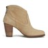 UGG Women's Charlotte Suede Heeled Ankle Boots - Wet Sand: Image 1