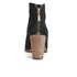 UGG Women's Charlotte Suede Heeled Ankle Boots - Black: Image 3