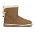 UGG Women's Selene Mini Sheepskin Boots - Chestnut: Image 1