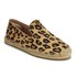 UGG Women's Sandrinne Calf Hair Leopard Slip On Espadrille Shoes - Chestnut Leopard: Image 5