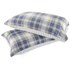 Catherine Lansfield Tartan Housewife Pillowcase - Pair - Navy: Image 1