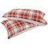 Catherine Lansfield Tartan Housewife Pillowcase - Pair - Red: Image 1
