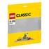 LEGO Classic: Grey Baseplate (10701): Image 1