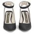 Kat Maconie Women's Amelia Leather Block Heel Ankle Strap Court Shoes - Black: Image 4