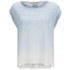 BOSS Orange Women's Todiscover Dip-Dye T-Shirt - Light/Pastel Blue: Image 1