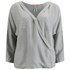 BOSS Orange Women's Euthalia Silk Blouse - Medium Grey: Image 1