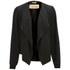 BOSS Orange Women's Oethna Drape Jacket - Black: Image 1