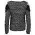 VILA Women's Truska Knitted Jumper - Pristine: Image 2