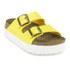 Birkenstock Women's Arizona Slim Fit Double Strap Platform Sandals - Yellow: Image 5