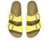 Birkenstock Women's Arizona Slim Fit Double Strap Platform Sandals - Yellow: Image 2