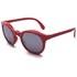 Sunpocket Samoa Shiny Red Sunglasses - Red: Image 2