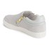 Ash Women's Intense Leather Skater Trainers - Marble: Image 5