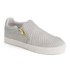 Ash Women's Intense Leather Skater Trainers - Marble: Image 4