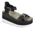 Ash Women's Vera Flatform Leather Sandals - Black: Image 5
