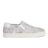Ash Women's Impuls Leather Skater Trainers - White/Nude: Image 1