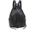 Rebecca Minkoff Women's Julian Backpack - Black/Silver Hardware: Image 7