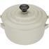 Le Creuset Stoneware Petite Casserole Dish - Almond: Image 3