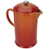Le Creuset Stoneware Cafetiere Coffee Press - Volcanic: Image 2