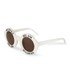 Wildfox Women's Bel Air Sunglasses - Pearl White: Image 2