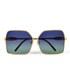 Wildfox Women's Fontaine Sunglasses - Gold: Image 1