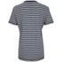 Victoria Beckham Women's Cap Sleeve T-Shirt - Navy/White Stripe: Image 3