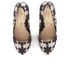 Vivienne Westwood Anglomania Women's Maggie II Asterisk Printed Court Shoes - Black/White: Image 2
