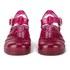 JuJu Women's Babe Heeled Jelly Sandals - Garnet: Image 4