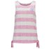 Animal Women's Carmyn Stripe Side Tie Vest - Pastel Pink: Image 1