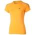 Asics Women's Tiger Stripe Running T-Shirt - Fizzy Peach: Image 1